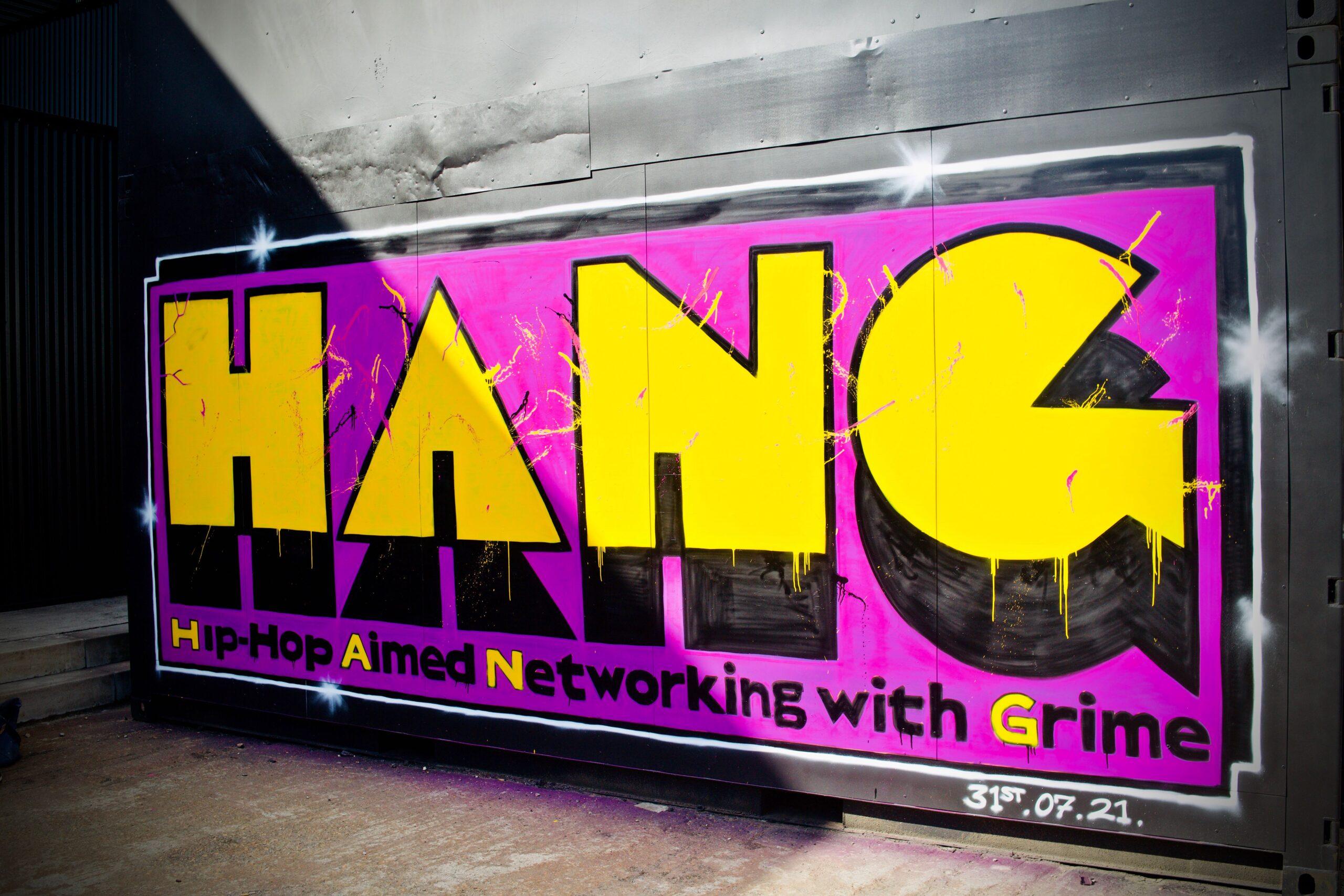 HANG mural